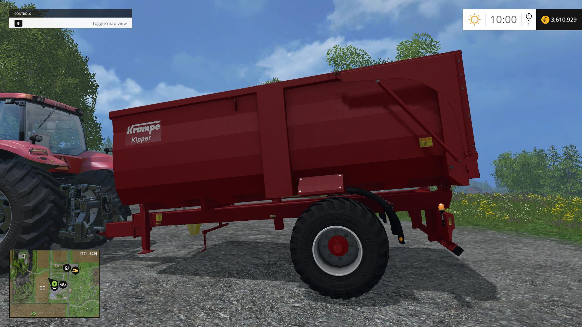 truck pendelachse 3d