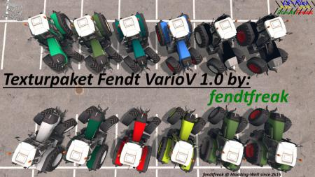 Texture package Fendt Vario 930