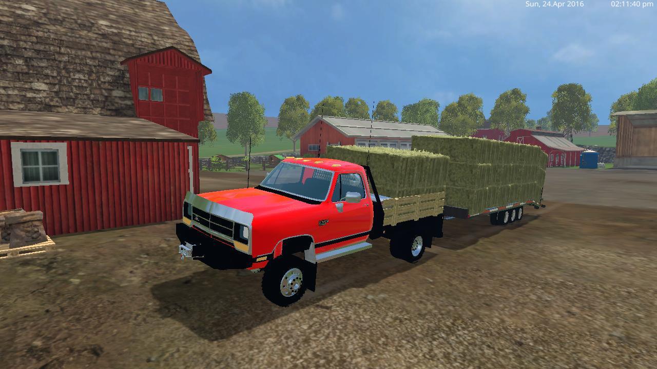 Dodge D250 Flatbed Dually V1 0 187 Gamesmods Net Fs17 Cnc