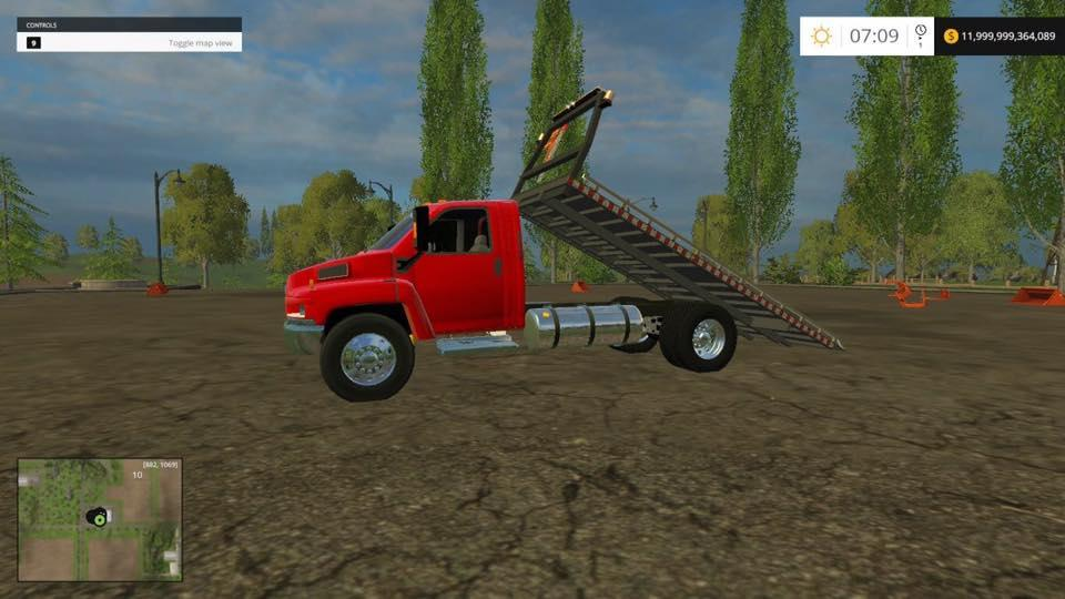 GMC TOW TRUCK UNFISHED » GamesMods.net - FS17, CNC, FS15, ETS 2 mods