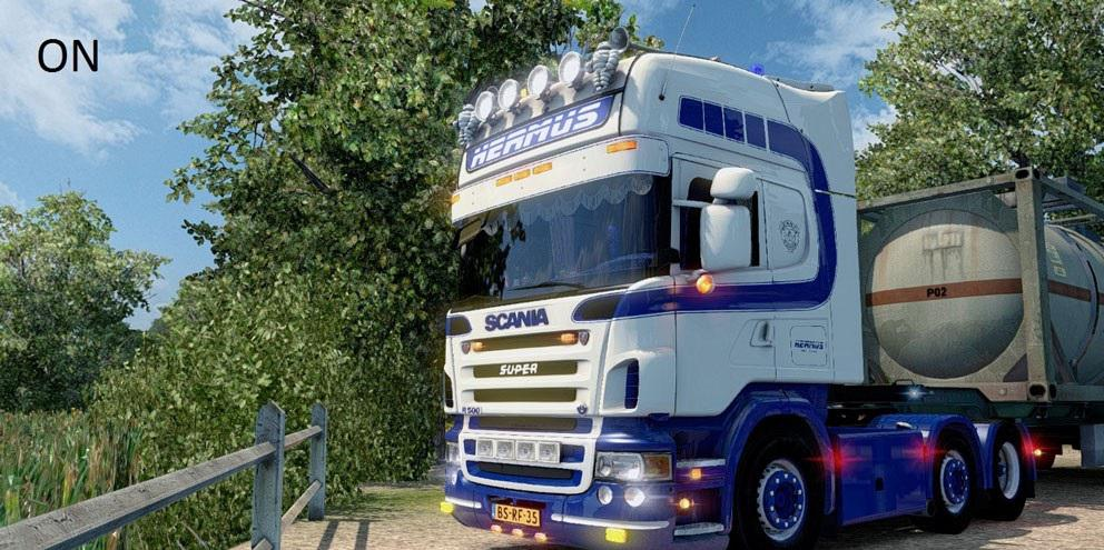 ETS 2 Graphic Mod by Rob Viguurs V2 » GamesMods net - FS19