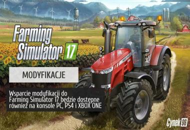 MODIFICATIONS FOR FARMING SIMULATOR 17
