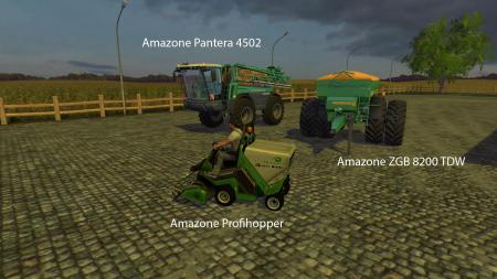 FS15 BIG MODS PACK V7 AMAZONE PACK V1