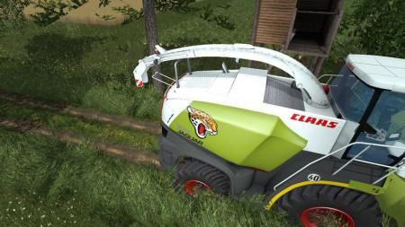 CLAAS JAGUAR TEXTURE V1.0 BY JJGG349