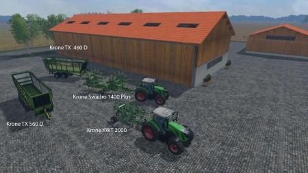 FS15 Big Mods Pack V10 Krone Pack V1