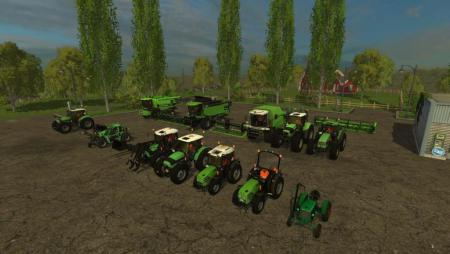 Deutz pack for FS15