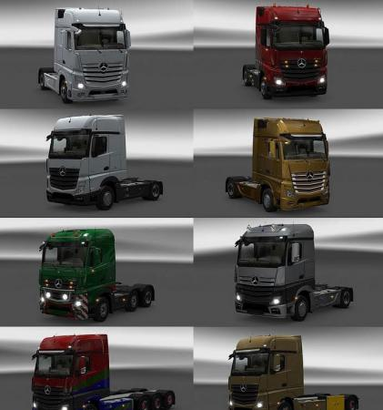 New Actros plastic parts and more 3.7.1