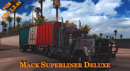 Mack Superliner Deluxe for American Truck Simulator v1.3.xx