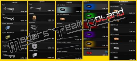 Tuning Accesories For All Trucks v.1.24