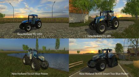 FS15 BIG MODS PACK V16 NEW HOLLAND PACK V1