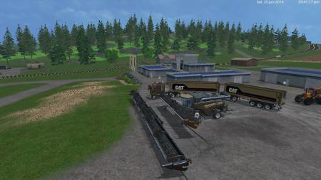 NEW HOLLAND + CAT TRUCK TRAILER PACKS BY EAGLE355TH V2