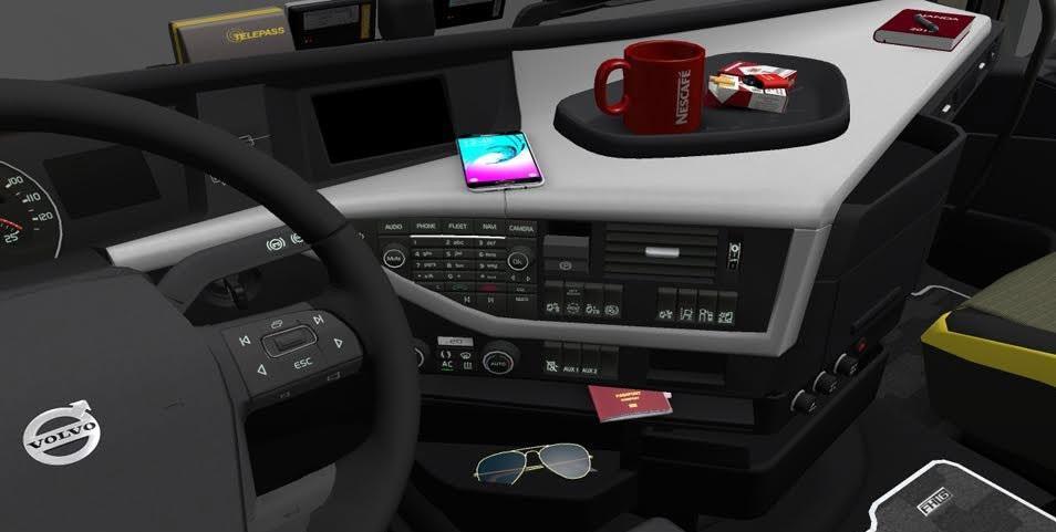 New Volvo FH16 Accessories + Interior v2 » GamesMods.net - FS17, CNC ...