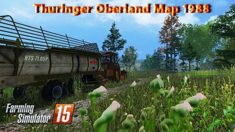 Thuringer Oberland Map 1988 v3.8 » FS19