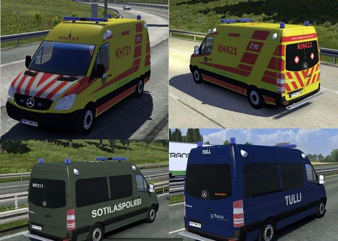 Ambulance » GamesMods.net - FS19, FS17, ETS 2 mods