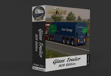 SCS GLASS TRAILER REWORKED V1.24 (UPDATE) 1.24.X