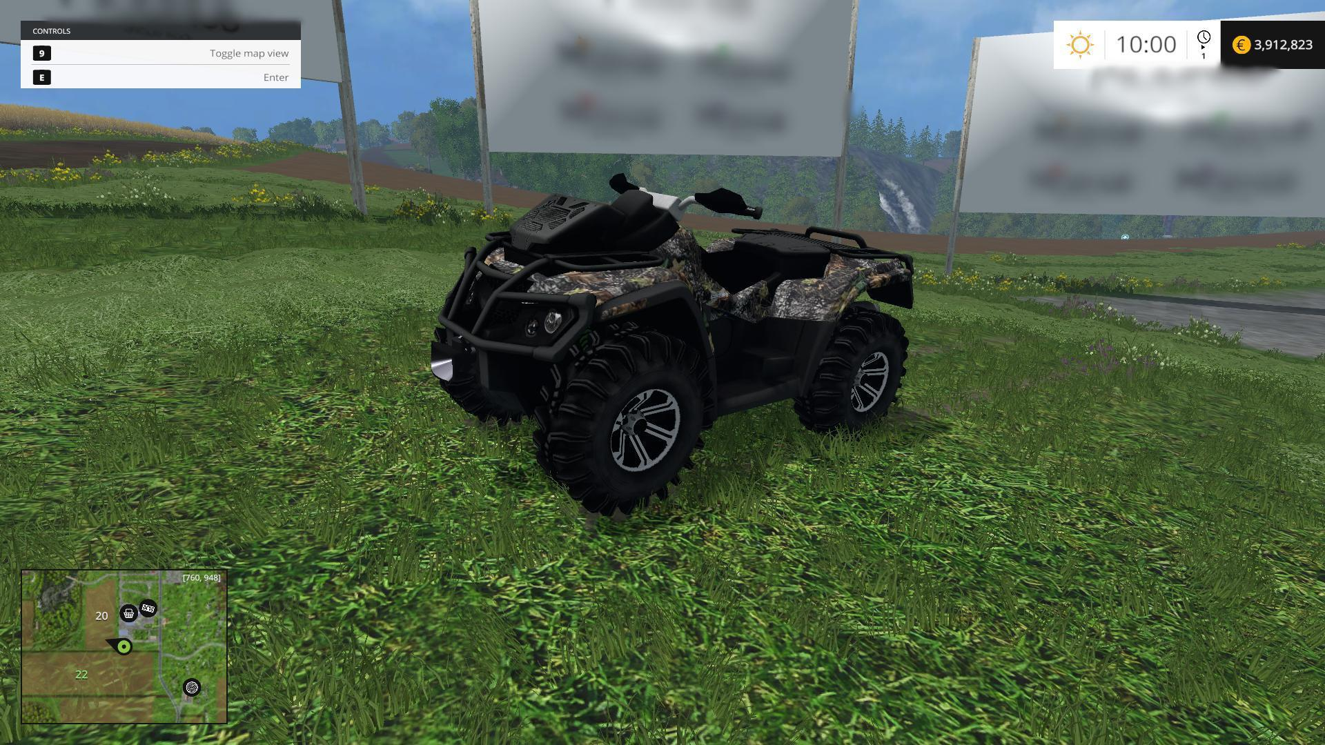 Can am atv 16