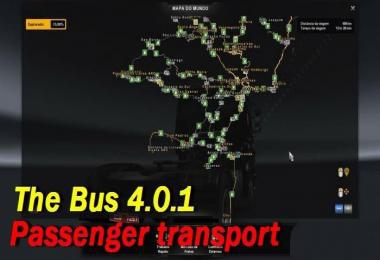 MAP OF BRAZIL – THE BUS PASSENGER TRANSPORT V4.0.1