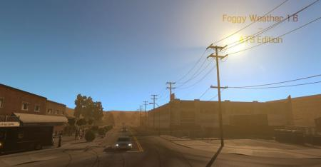 Foggy Weather v 1.6.3.1 – ATS Edition