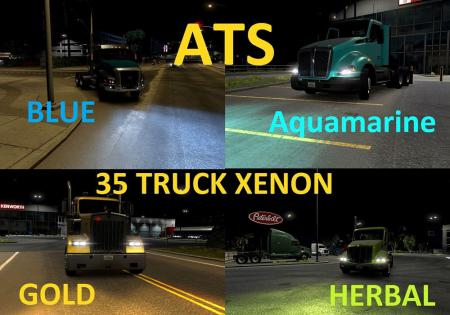 ATS 36 Xenon Color Pack