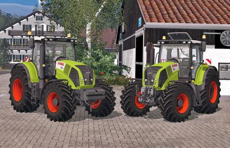 Claas Axion 850 v2.0 Pack
