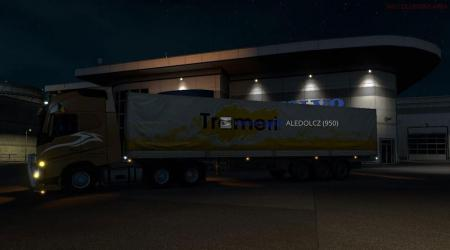 Custom 90 Tons Trailer for Multiplayer