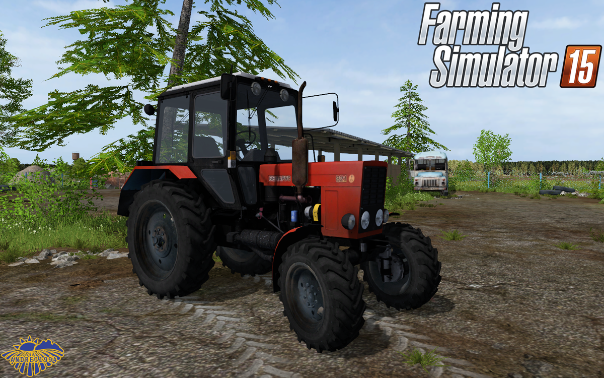 Мод МТЗ-82 и ПКУ-0.8 для Farming Simulator 2015