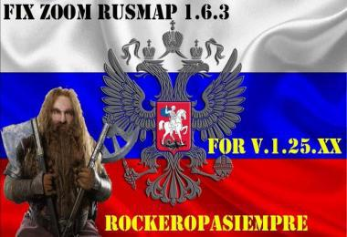 RUSMAP ZOOM V1.6.3 FIX