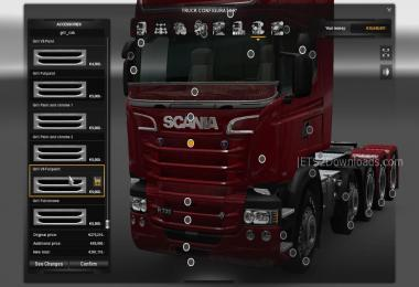 SCANIA NEW MEGA TUNING 1.25