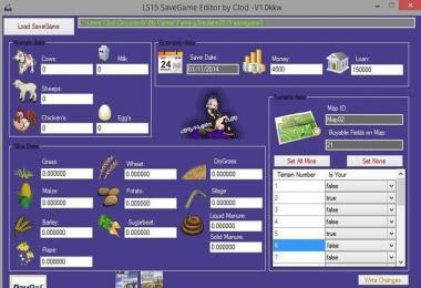 SAVE GAME EDITOR » GamesMods net - FS19, FS17, ETS 2 mods