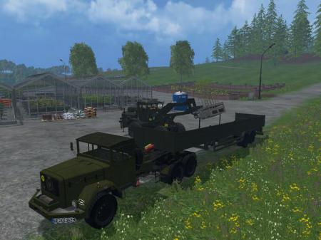 MAGIRUS DEUTZ JUPITER TRACTOR WITH SEMI-TRAILER V1.1