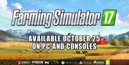 Farming Simulator 2017 Gamescom Trailer