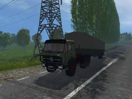 MB NG 1632 6x6 with tilt trailers V 1.0