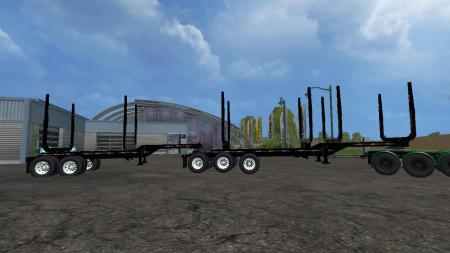 TRAIL EX LOG TRAILERS V1