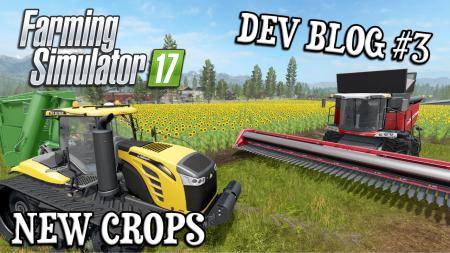 New Crops for Farming Simulator 17 game