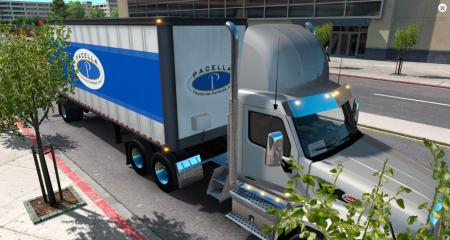 Pacella Trucking Express box trailer