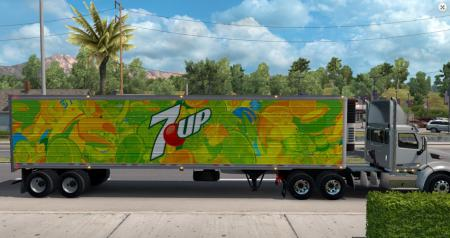 7up reefer trailer