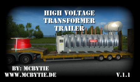 High Voltage Transformer Trailer V 1.1