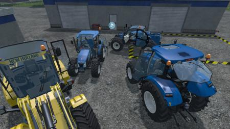 New Holland loader pack + New Holland T4 and T6 V 1.0