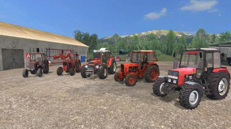 Pack Zetor and MTZ