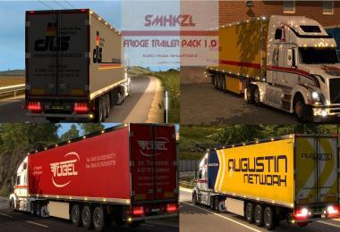 FRIDGE TRAILER PACK V1.0 1.24.X, 1.25.X