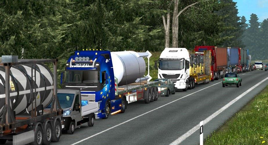 Traffic Density and Speed Limits v 2 0 for 1 25 » GamesMods