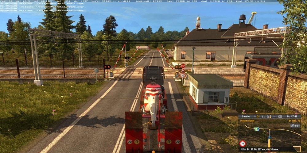 RusMap » GamesMods net - FS19, FS17, ETS 2 mods