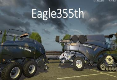 NH PACK BONES EAGLE355TH + KRONE AUTOSTACK BY EAGLE355TH V1.1