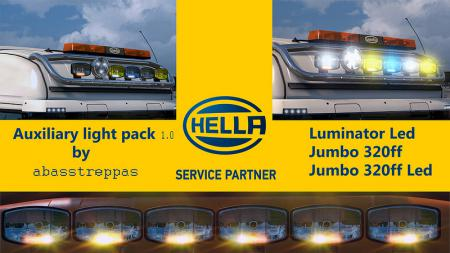 Hella Auxiliary Light Pack 1.0