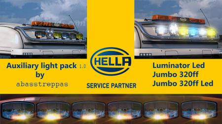 Hella Auxiliary Light Pack 1.0 UPDATED