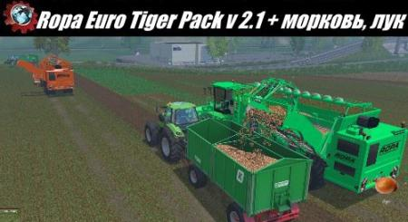Ropa Euro Tiger Pack v 2.1 + carrots, onions