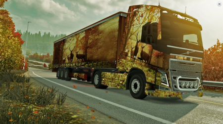 Autumn Skin Volvo 2012