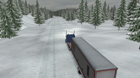Dalton and Elliot Hwy Extreme Winter Map 1.0