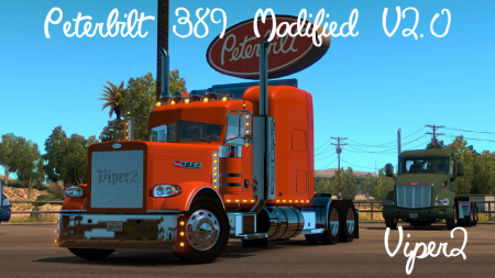 Modified Peterbilt 389 V2.0.8 ATS