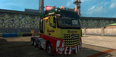 Heavy Haulage Skins for Big Stars Actros/Arocs